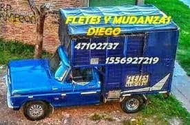 fletes y mudanzas  diego 1556927219 whatsapp las 24 hs