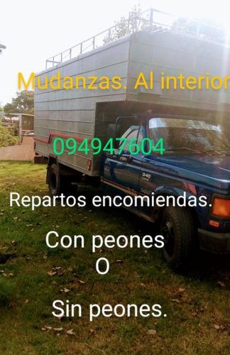 fletes y mudanzas económicas. consulté 094947604