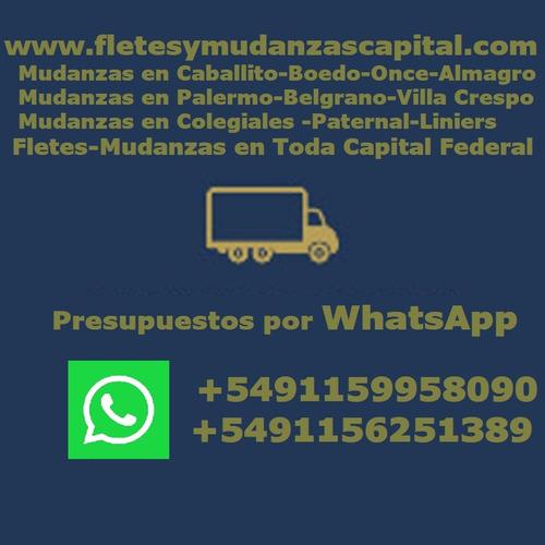 fletes y mudanzas los+económicos de flores/floresta /v.luro
