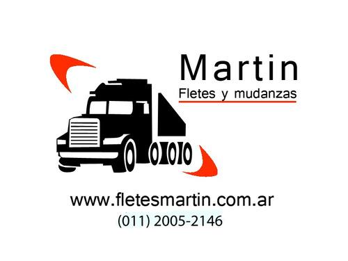 fletes y mudanzas martín ¡! servicio super economico !!!