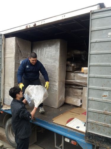 fletes y mudanzas mercosur!! camiones con rastreo satelital