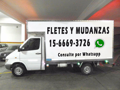 fletes y mudanzas. ubicados en nuñez. 1566693726 whatsapp