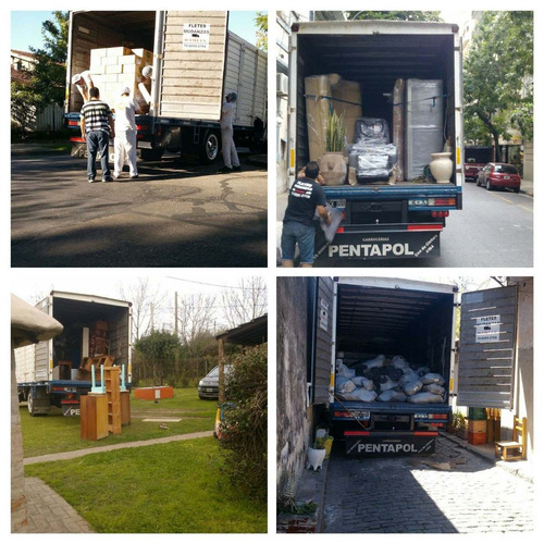 fletes y mudanzas villa martelli,v.urquiza zona norte camion