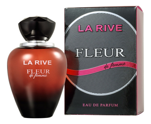 fleur de femme la rive eau de parfum - perfume feminino 90ml