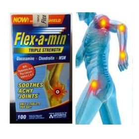 Flex-a-min Glucosamine X 100 Capsulas - L a $1
