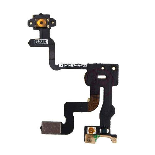 flex botão power cabo sensor proximidade iphone 4s original