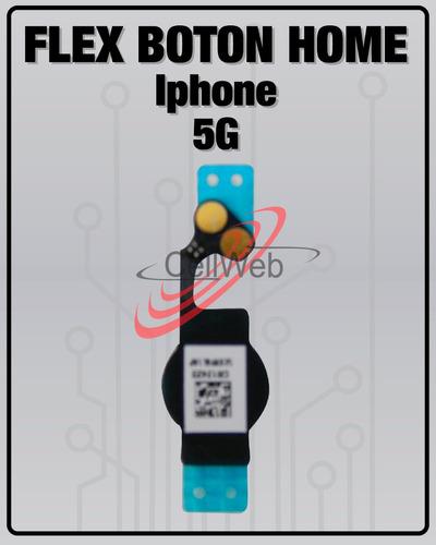 flex boton home iphone 5g original inicio repuesto original