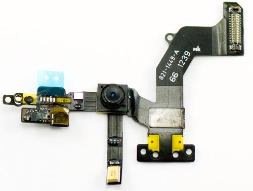 flex camara frontal original iphone 5 5s 5c - san borja