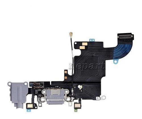 flex carga audio dock iphone 6s 4.7 gris