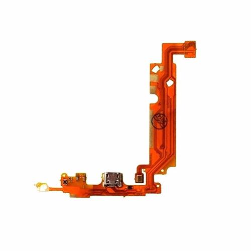 flex conector carga microfone lg optimus l5 dual e610 e615