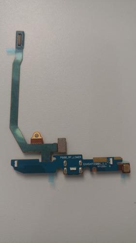 flex conector de carga lg optimus 4x hd completo original