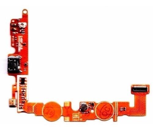 flex conector de carga+micro fone e455 l5 optimus lg (orign)