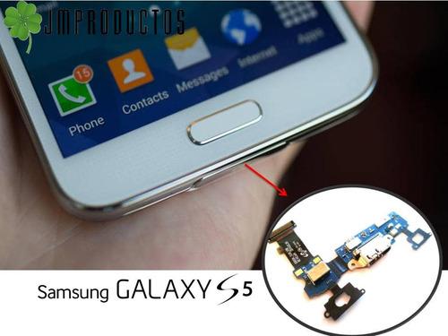 flex de carga galaxy s5 i9600 g900 para samsung