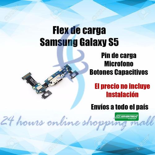 flex de carga original samsung s5