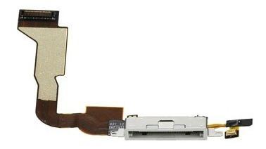 flex de carga y sincronizacion iphone 4 negro blanco