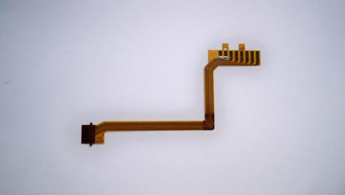 flex de conexión de la montura al cto.del lente nikon 18-105