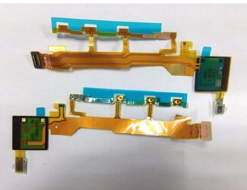 flex de encendido sony xperia z original- pulsador volumen