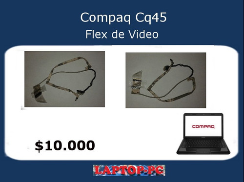 flex de video comapq cq45