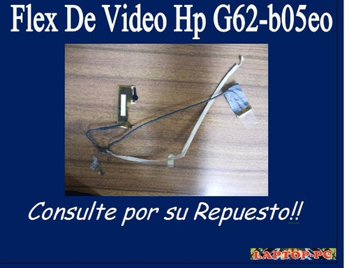 flex de video hp g62-b05eo