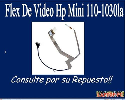 flex de video hp mini 110-1030la
