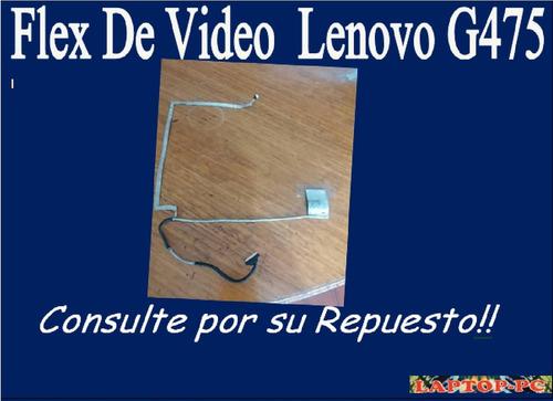 flex de video lenovo g475
