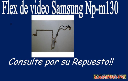 flex de video  samsung np-n130