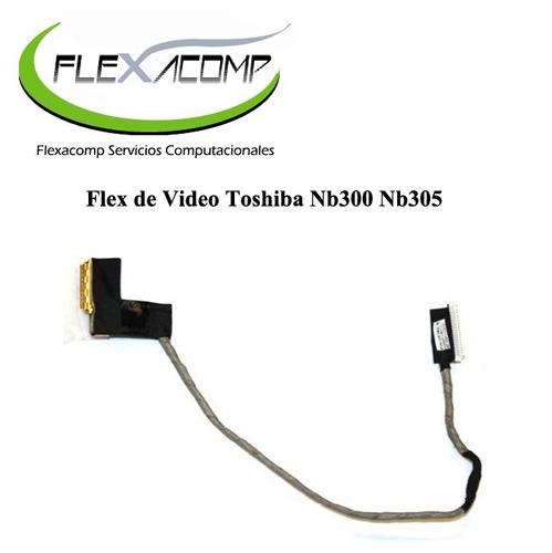 flex de video toshiba nb300 nb305