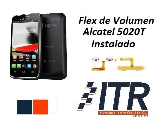 Flex De Volumen Alcatel 5020 Original Instalado Chacao