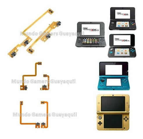 flex l y r para nintendo 3ds xl new 3ds todas
