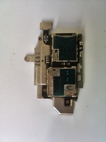 flex lector sim card y micro sd samsung s3 i9300