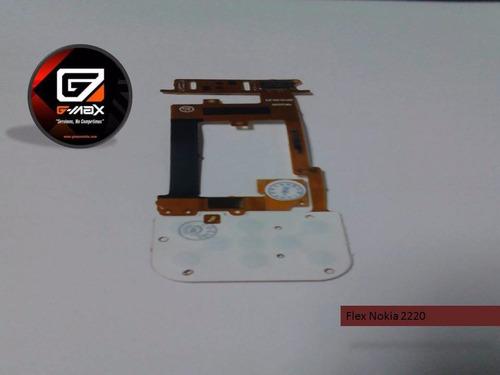 flex nokia 2220 nuevo original