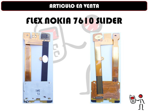 flex nokia 7610 slider nuevo original somos tienda fisica