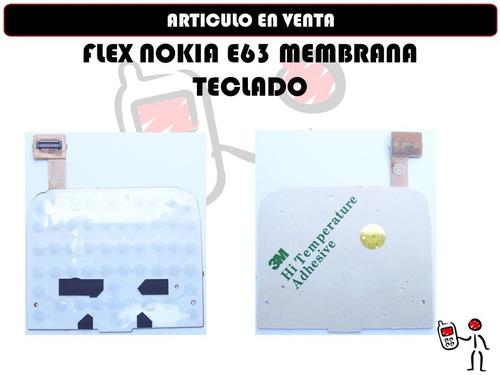 flex nokia e63 membrana teclado nuevo orig somos tienda