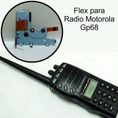 flex para radio motorola gp68