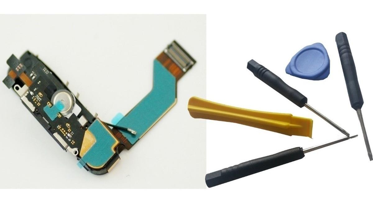 63df7a46fc0 Flex Pin Carga Y Microfono iPhone 4s Herramientas - U$S 14,99 en ...