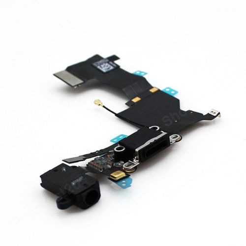 flex pin  de carga microfono jack de audio iphone 5s