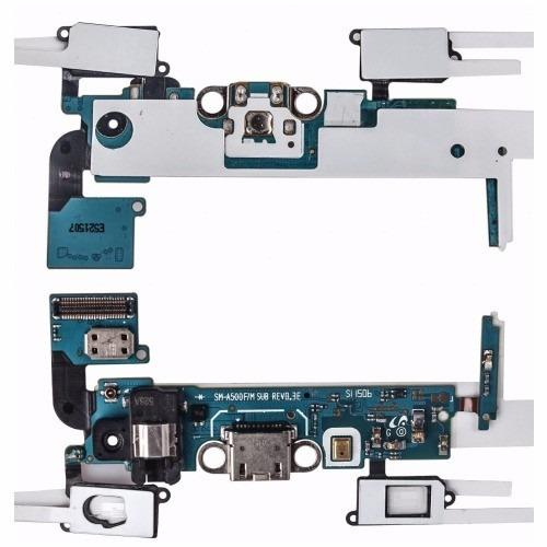 flex pin de carga micrófono samsung galaxy a5 sm-a500 f m