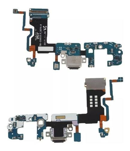 flex pin de carga usb jack microfono samsung s9 plus g965