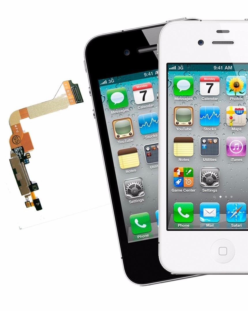 716305033b5 Flex Pin De Carga Y Microfono iPhone 4s Nuevo - Bs. 1,00 en Mercado ...