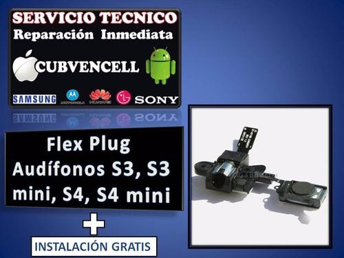 flex plug audifonos s3, s3 mini, s4, s4 mini + instalación