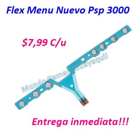 flex psp 3000 botones nuevos