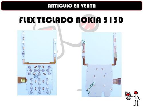 flex teclado nokia 5130 nuevo somos tienda fisica
