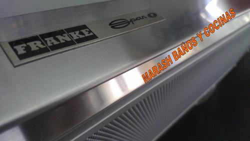 flexa campana spar franke flexa purificador cocina acero