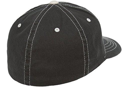 flexfit original en contraste puntada en blanco sombrero de