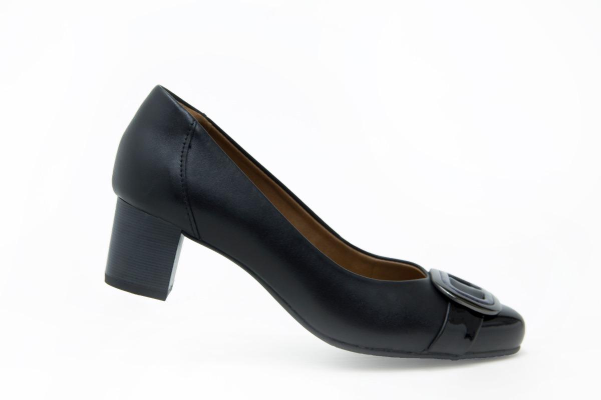 e7876f76 moderno zapatos Cargando comodo tacon flexi dama 47409 elegante zoom negro  wHqITOa