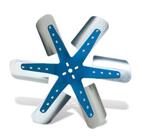 flexible -a-lite 1318 azul star acero inoxidable 6-blade 18-