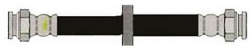 flexible freno fiat palio siena marea brava trasero 23cm