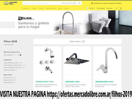 flexible para agua de goma mallado 1/2 x 30 cm