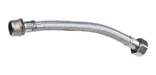 flexible para agua de goma mallado 3/4 x 40 cm