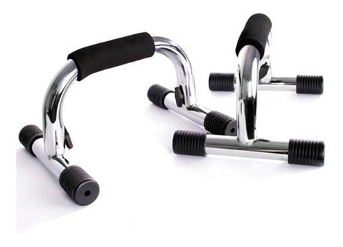 flexiones pecho soporte base acero inoxidable lagartijas